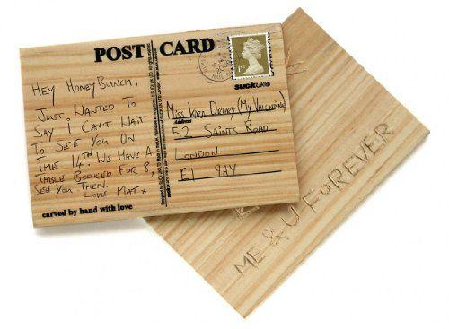 Suck UK Cartolina Postale Personalizzata In Legno Toy Zany http://www.amazon.it/dp/B00138M1B4/ref=cm_sw_r_pi_dp_NLLUwb0AKEM63