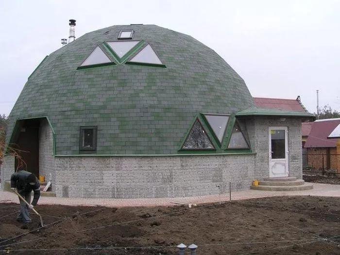 как построить купольный дом своими руками: 11 тыс ...