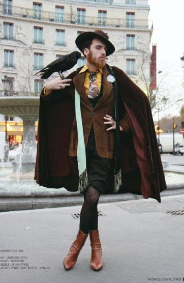 Dickensian Dandy Androgynous Fashion Fashion Character Outfits