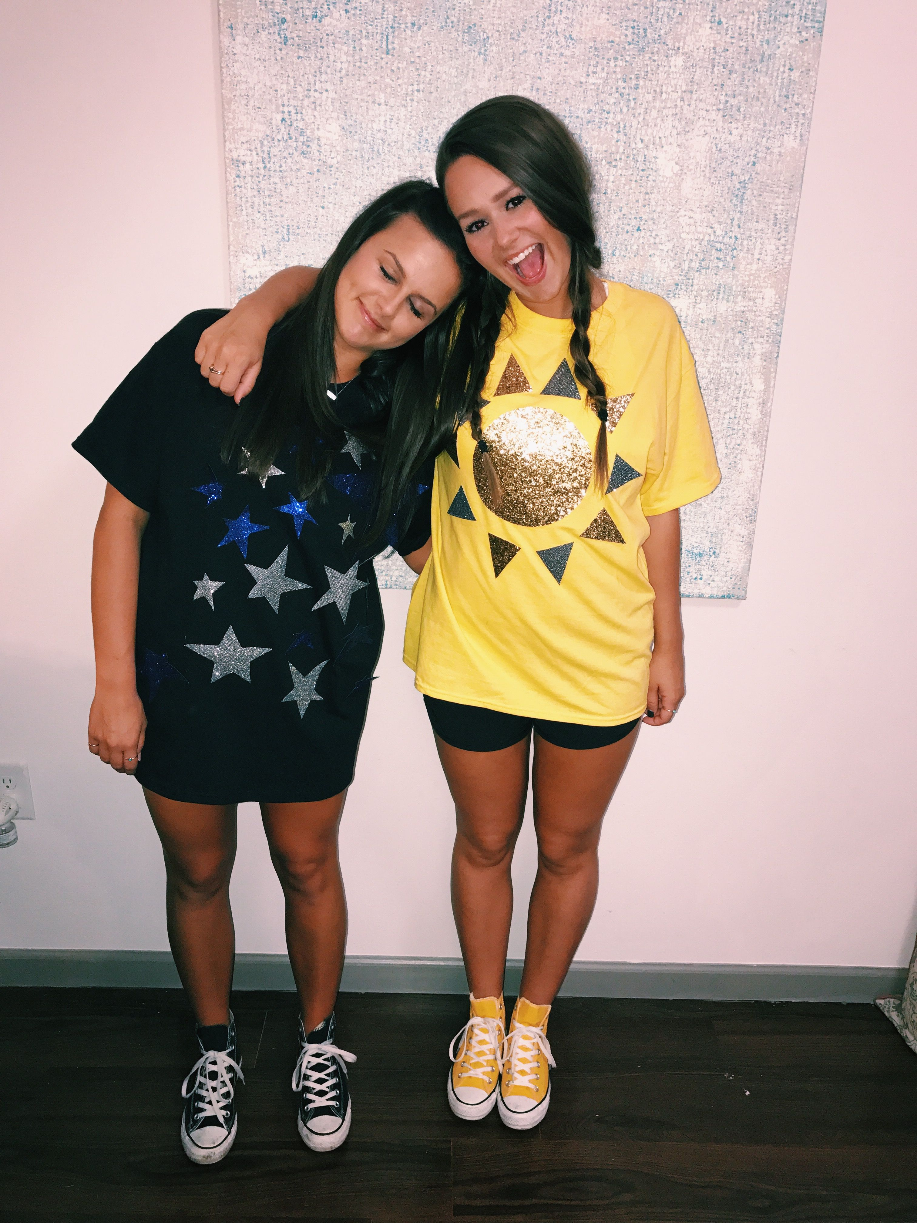Opposites Attract Costume Day And Night Halloween