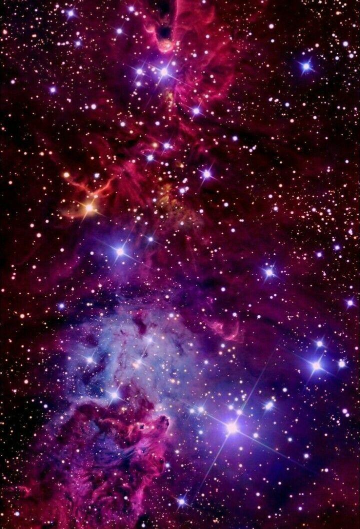 Galaxy Nebulosa Pink Purple L Black Red Nebula Purple Red Purple
