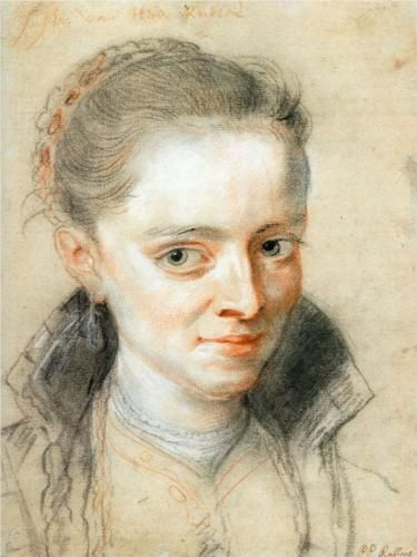 c 1620 Peter Paul Rubens (Flemish Baroque painter, 1577-1640) Probably Susanna Lunden (Fourment) Her sister Helena was Rubens' 2nd wife