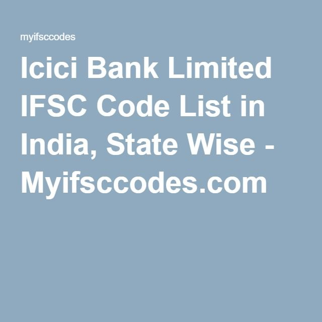 icici bank ifsc code list kerala