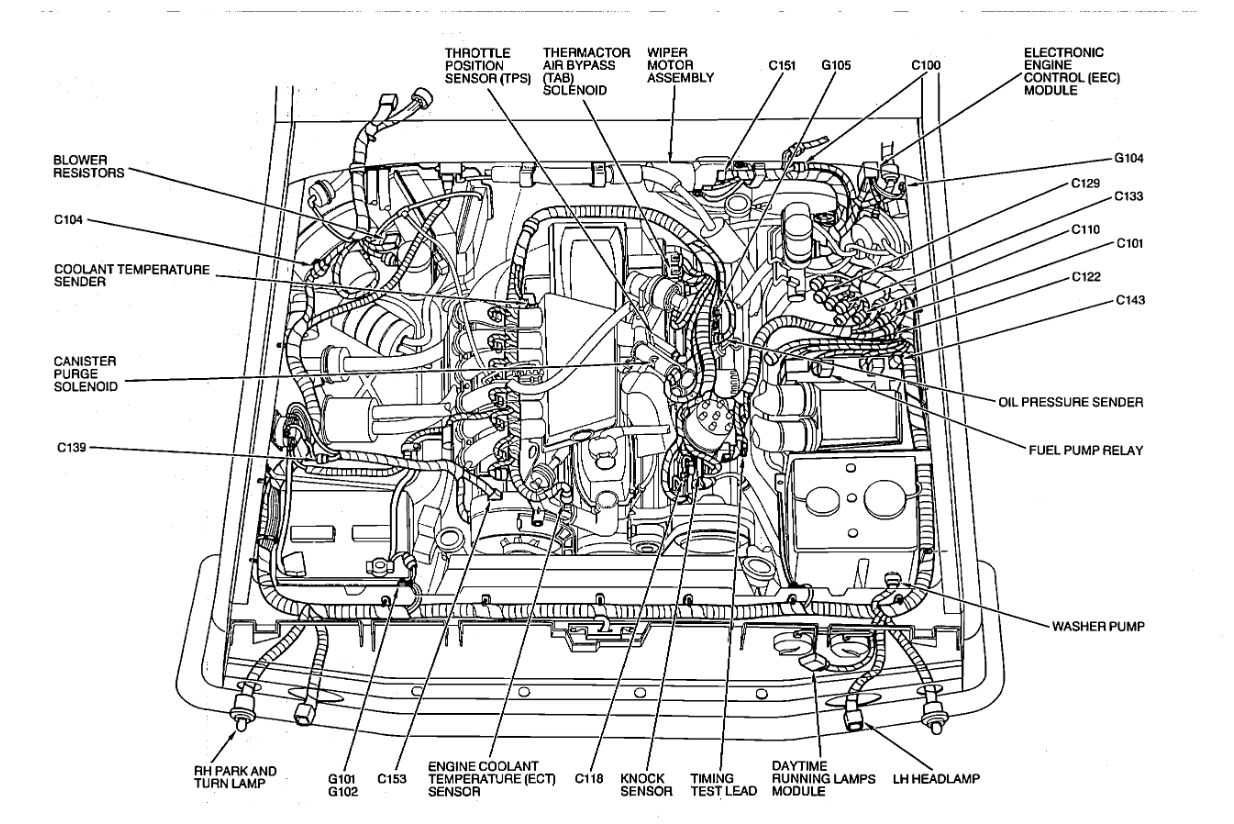 1987 ford f150 fuel system diagram wiring diagram directory Fuel System  Problems On 1989 Ford F-150 5 0 | Ford f150, F150, DiagramPinterest