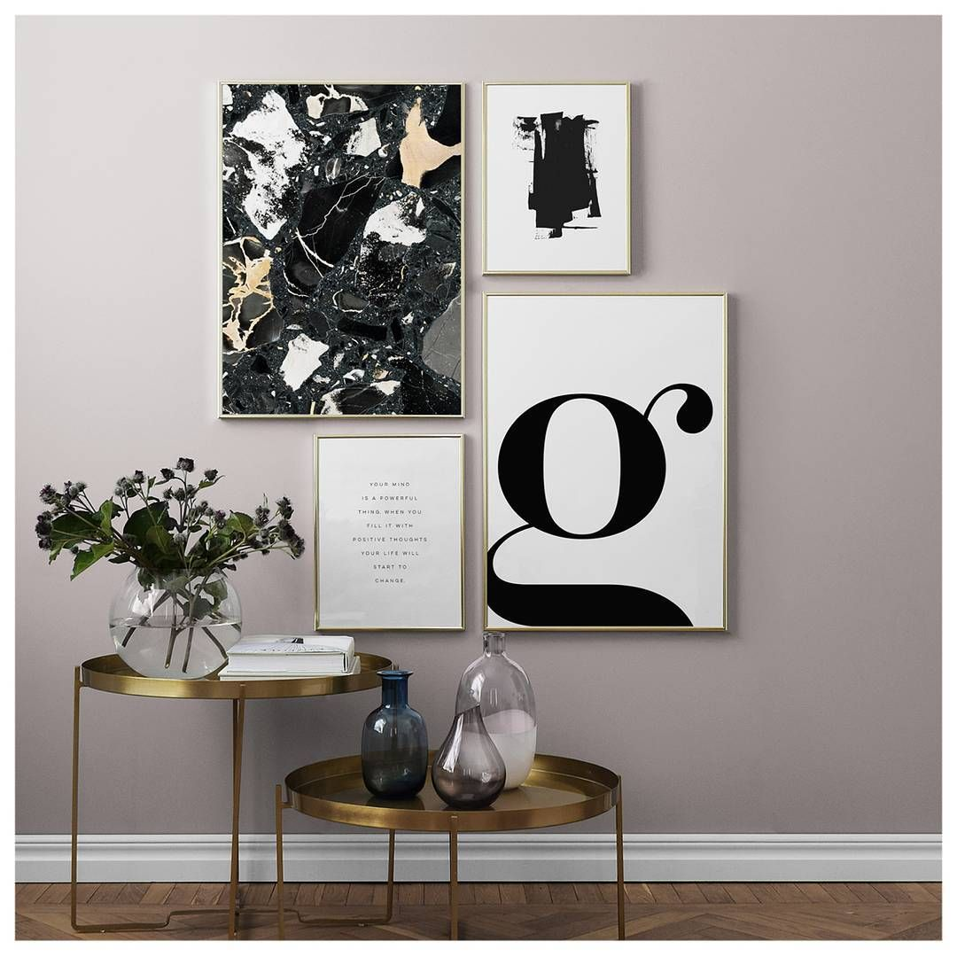 50x70 Poster 10 Beautiful Rooms Château Lettering Letter G Poster
