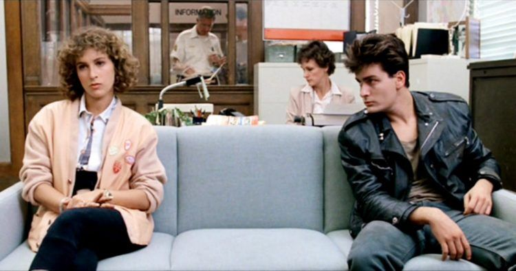 Take The Day Off To See Ferris Bueller 1986 Charlie Sheen Ferris Bueller Jennifer Grey