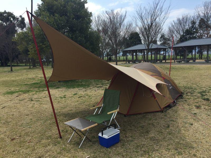 アメドs ムササビ小川張り デイキャンプ キャンプ 女子 アウトドア用品