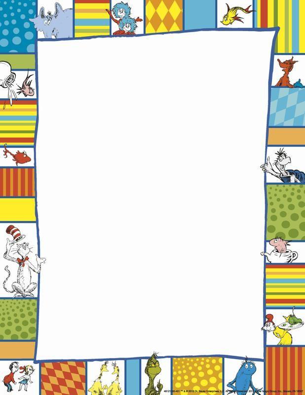 Vertical Images Dr Seuss Google Search Seuss Classroom Computer Paper Dr Seuss Classroom