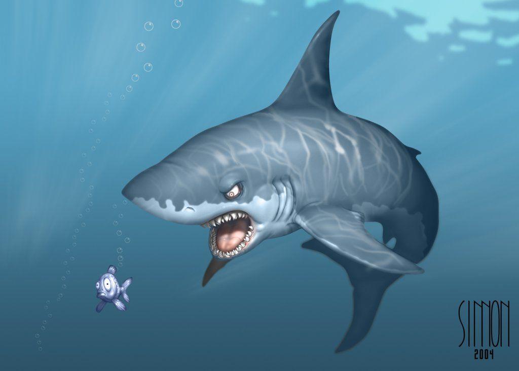 Cool Cartoon Shark Picture Cool Cartoon Shark Wallpaper Shark Illustration Shark Drawing Shark Art
