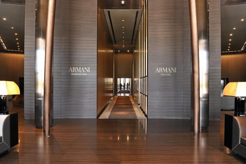 Armani Designet The New Hotel Interior In Burj Khalifa In Dubai