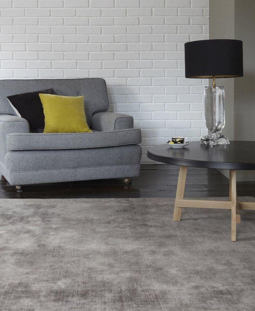 Moderner designer Teppich BLADE RUG SILVER silber A100368