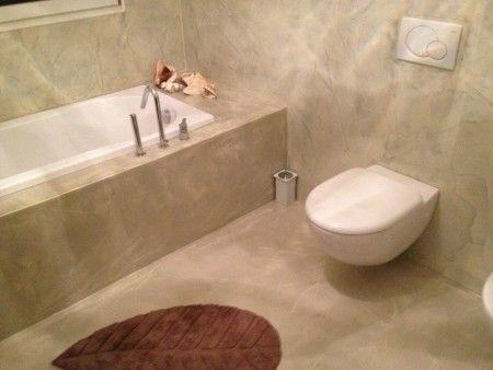 Bagno Pavimento Resina.Pin Di Lilia B Su Bath Bagno E Pavimenti