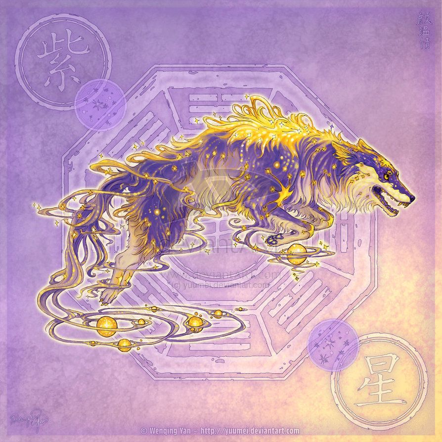 Elemental Wolves | Fantasy Creatures in 2019 | Demon wolf