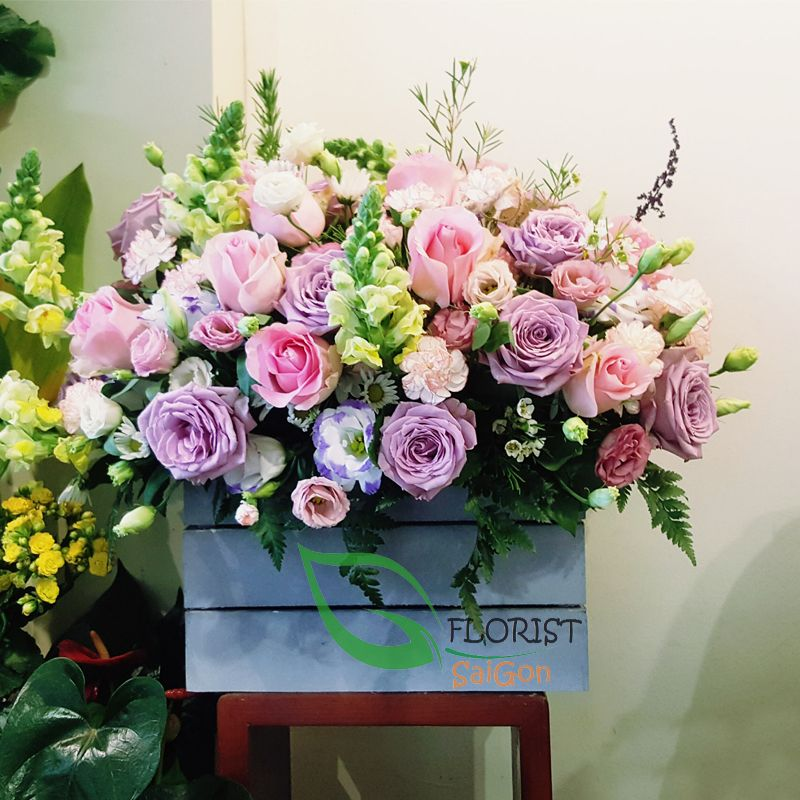 Birthday Flowers For Mom Delivered Saigon Same Day Mother Gifts And Perfect To Make Her Special Florist Hcmc Hochiminh