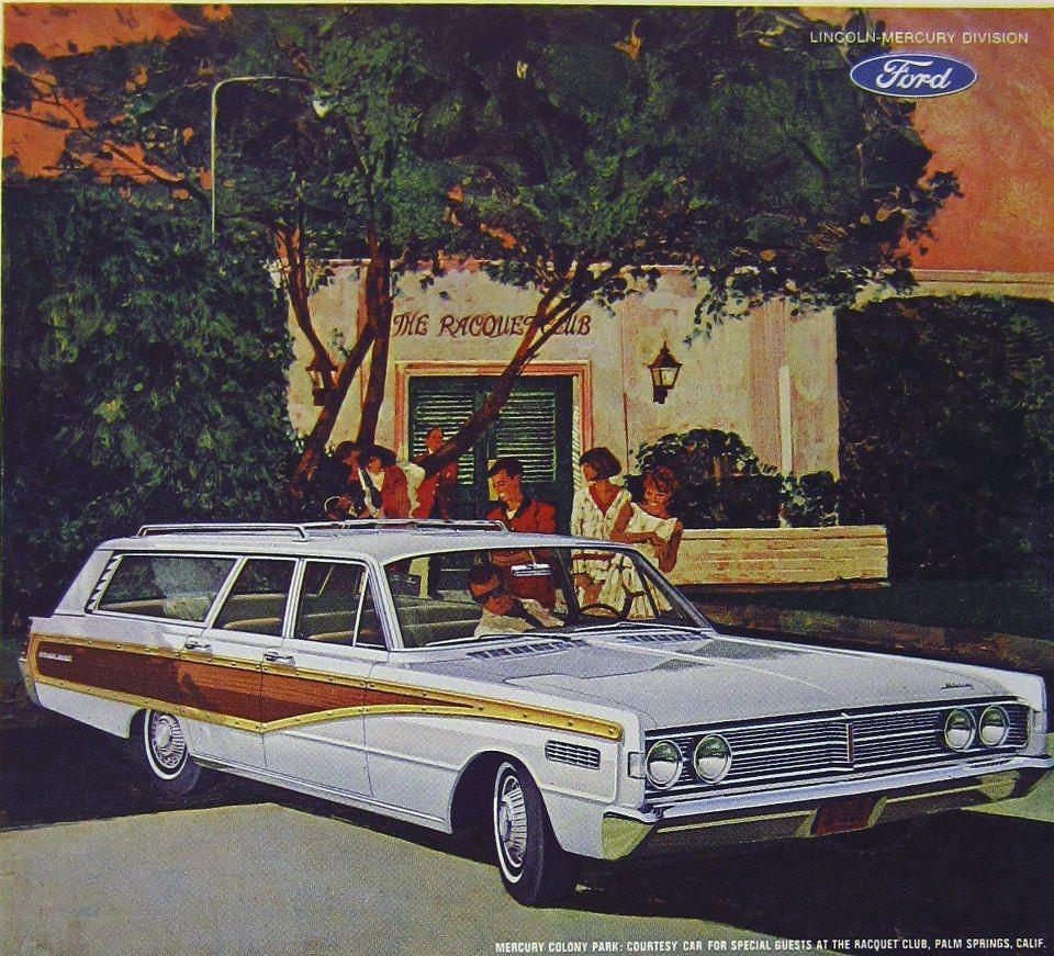 Mercury, Station Wagon, Car Show