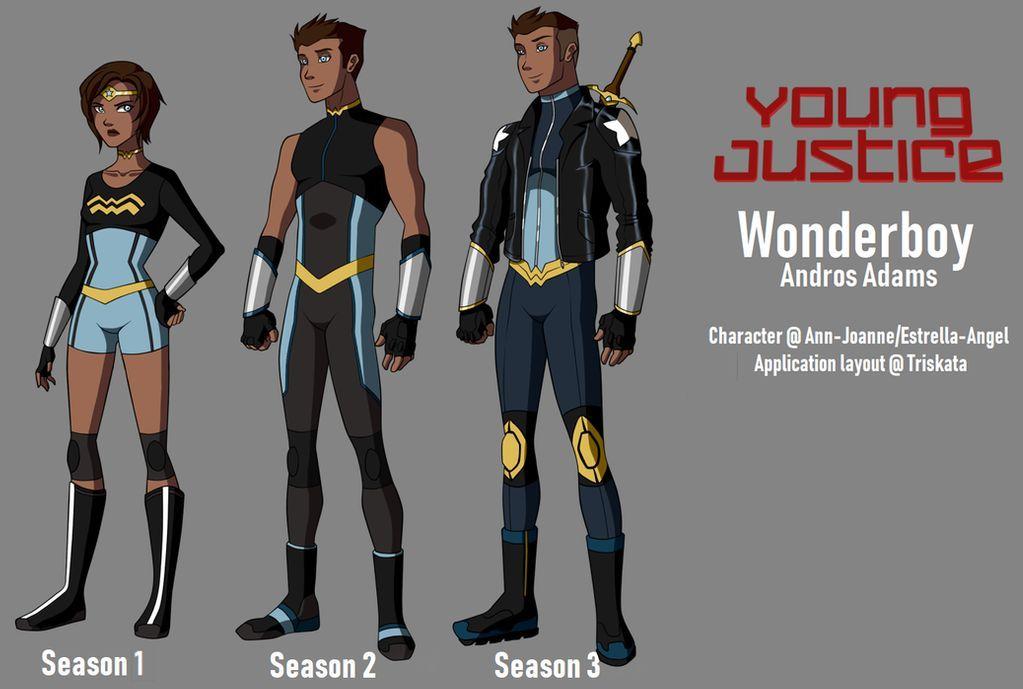 Young Justice Seasons Wonderboy By Estrella Angel On Deviantart Young Justice Aqualad Young Justice Young Justice League