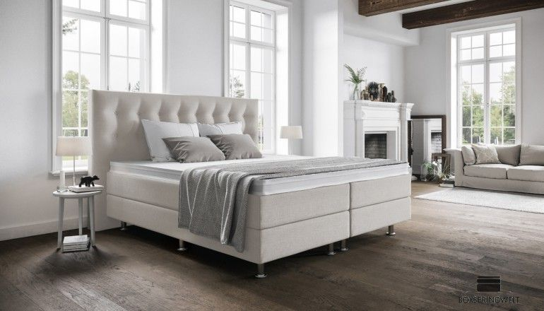Boxspringbett Paula 180 X 200 Cm In 2020 Schlafzimmer Wand