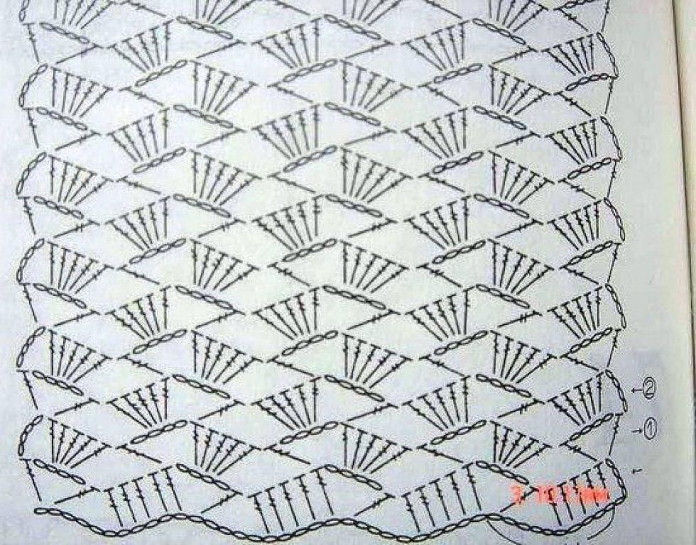Bufandas a ganchillo | Crochet, Crochet stitches and Patterns