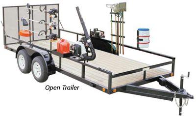 trailer accessories locking gas can