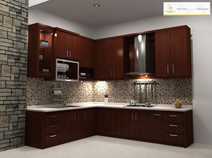 Kitchen Set Murah Kayu Jati Minimalis Jepara Terbaru Kitchen Set