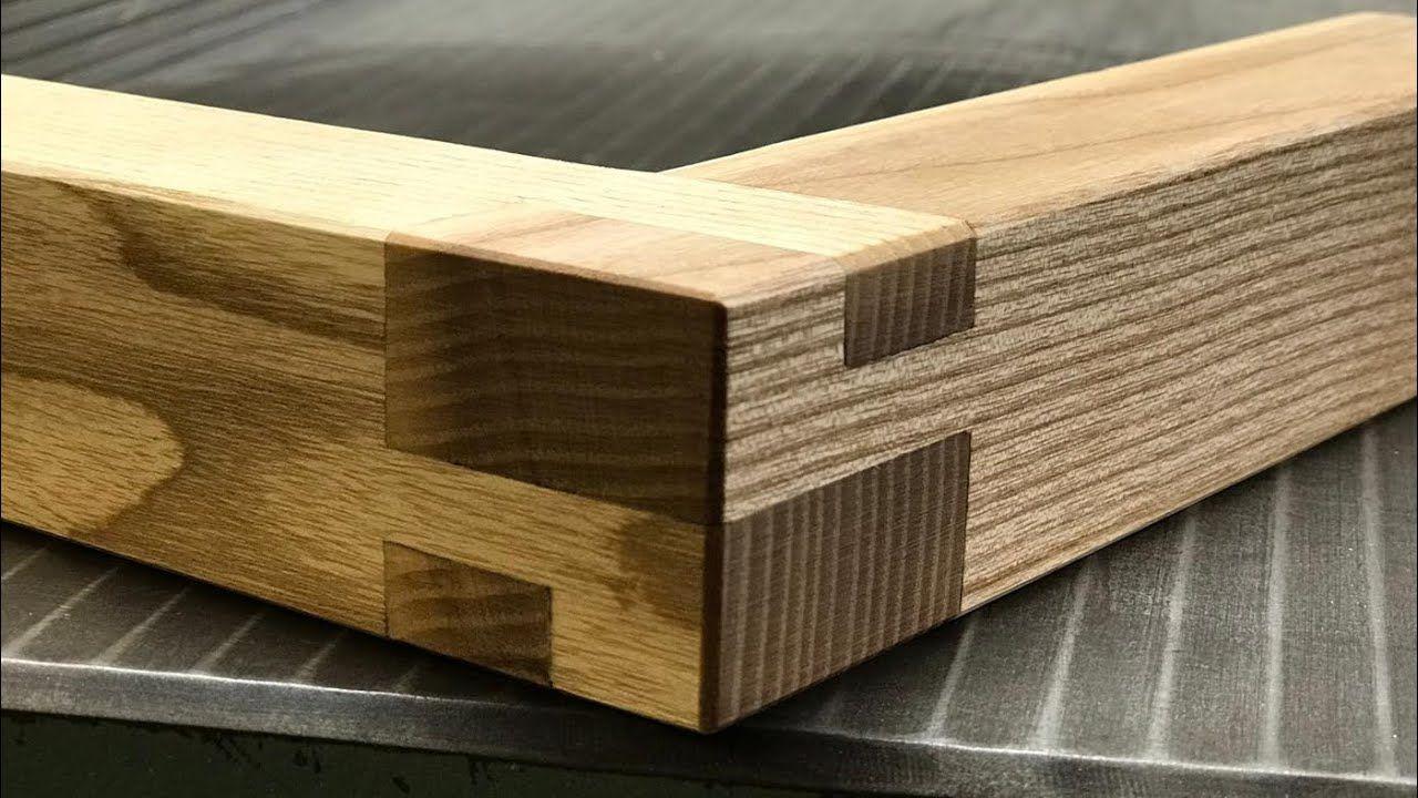 Ungewohnliche Holzverbindung Holzverbindungen Eckverbindung Holz Holz Drechseln
