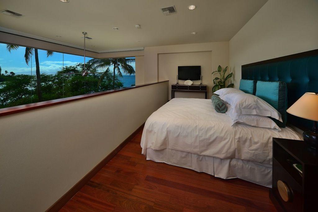 Hawaiian mezzanine bedroom - Maui, Hawaii
