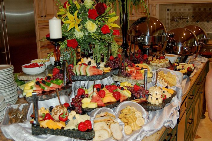 Receptions Food Displays And Prime Time On Pinterest: Catering Displays - Google Search