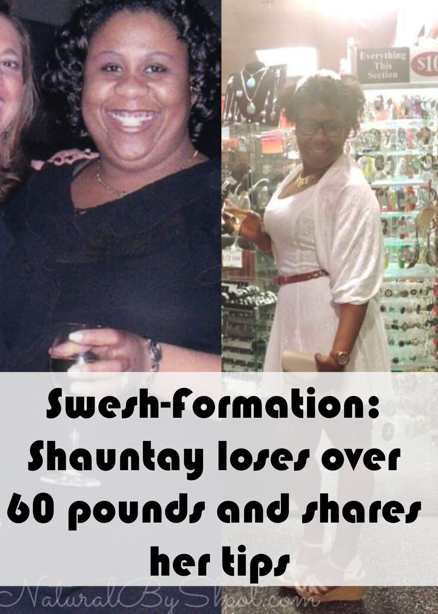 Shauntay loses 60 pounds in weight loss journey