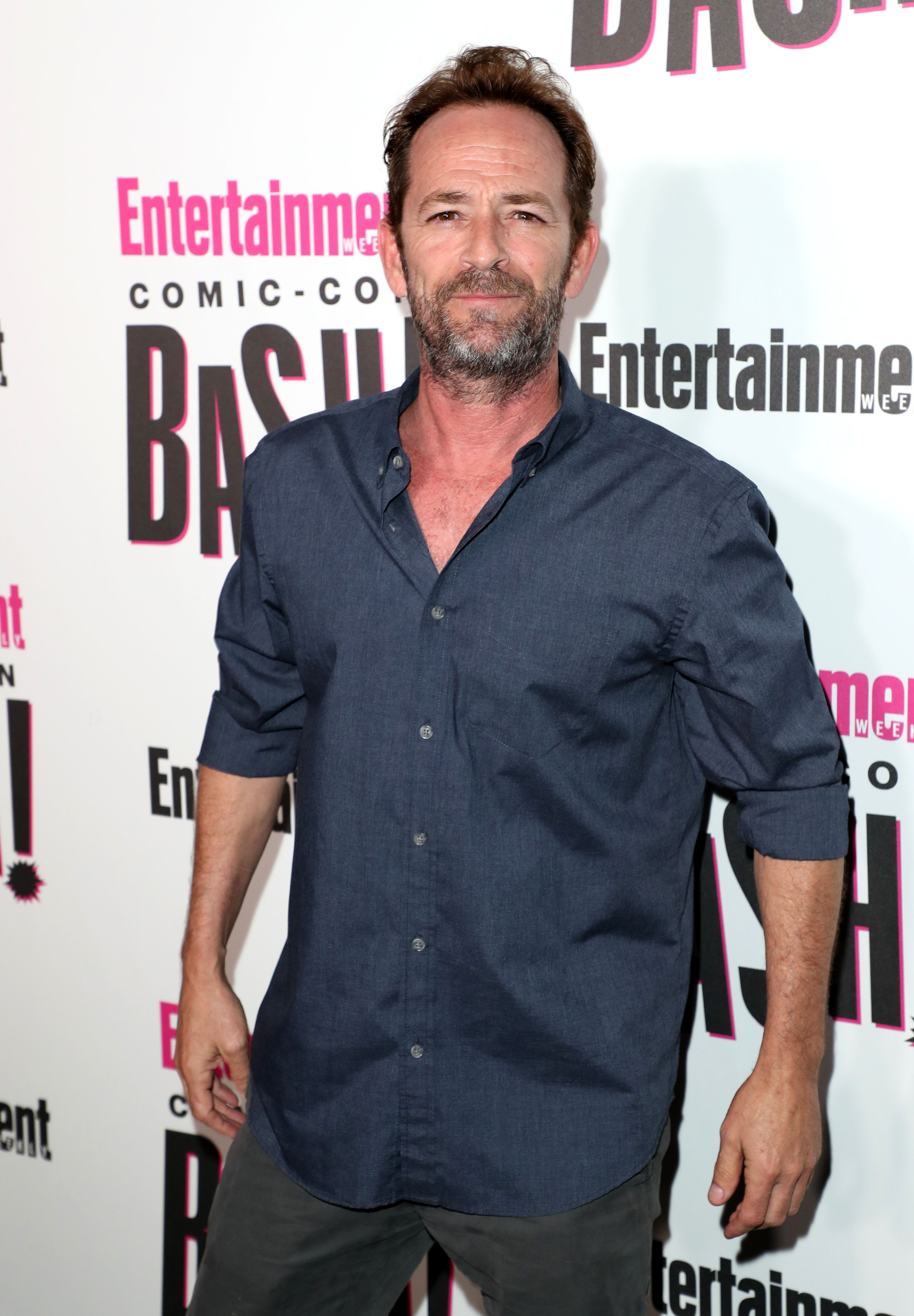Luke Perry Attends Entertainment Weekly S Comic Con Bash