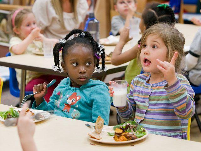 West End United Methodist Church's preschool in Nashville, Tenn. UMNS photos by Mike DuBose.