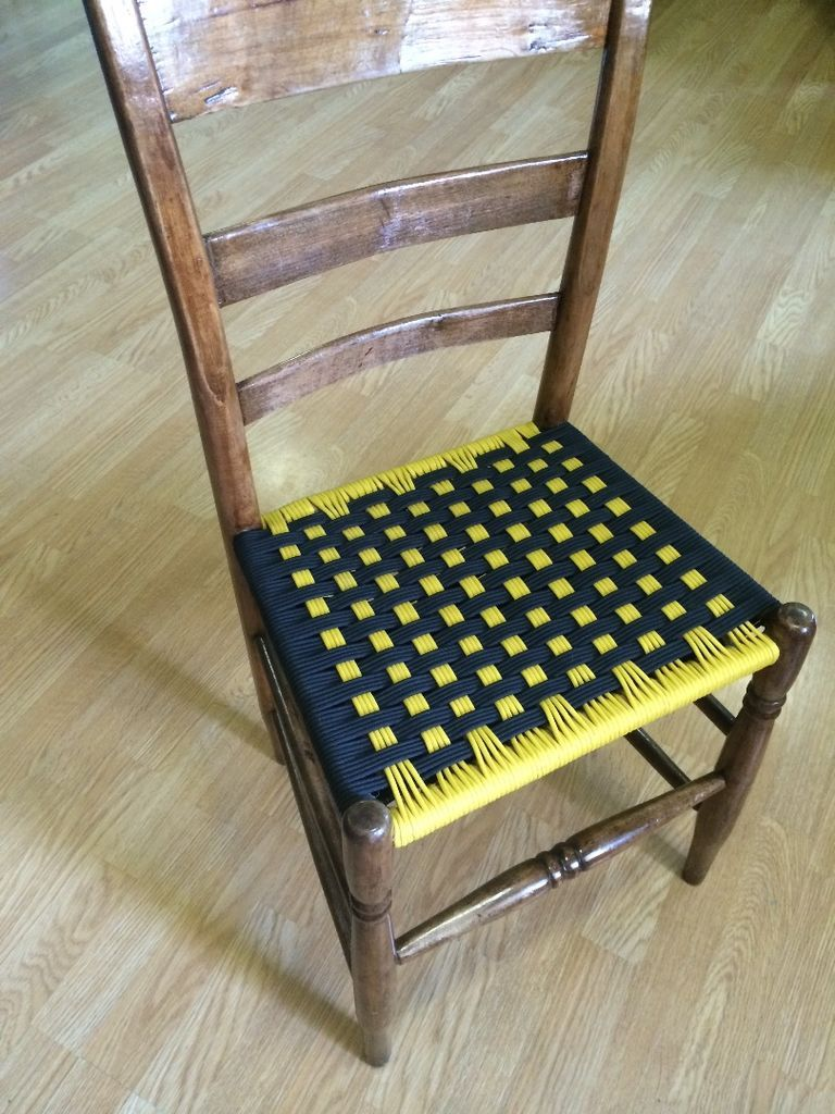 Weave Chair Seats With Paracord My Ideas Woven Chair