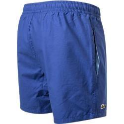 Lacoste Schwimm-Shorts Herren, Baumwolle, blau Lacoste