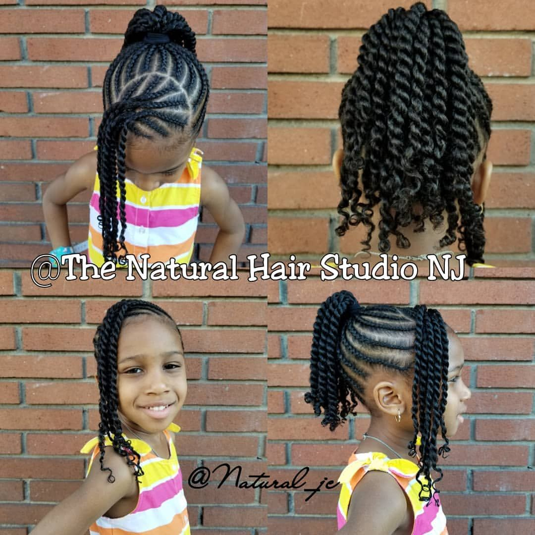 Cornrows And Twists No Added Hair Natural Jc