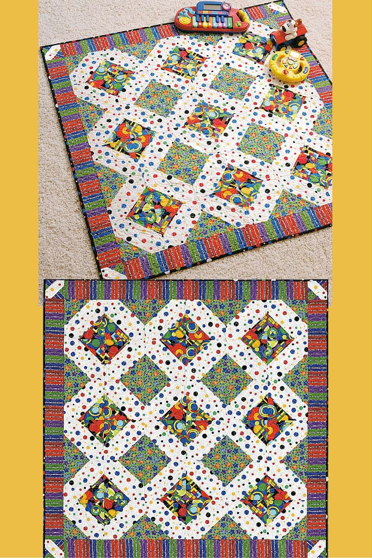 Baby crib quilt patterns free - Free Crib Quilt Pattern Baby Genius Synapse