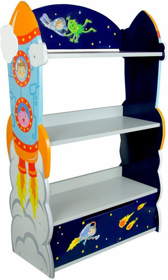 Fantasy Fields Kinderregal Bücherregal Outer Space In