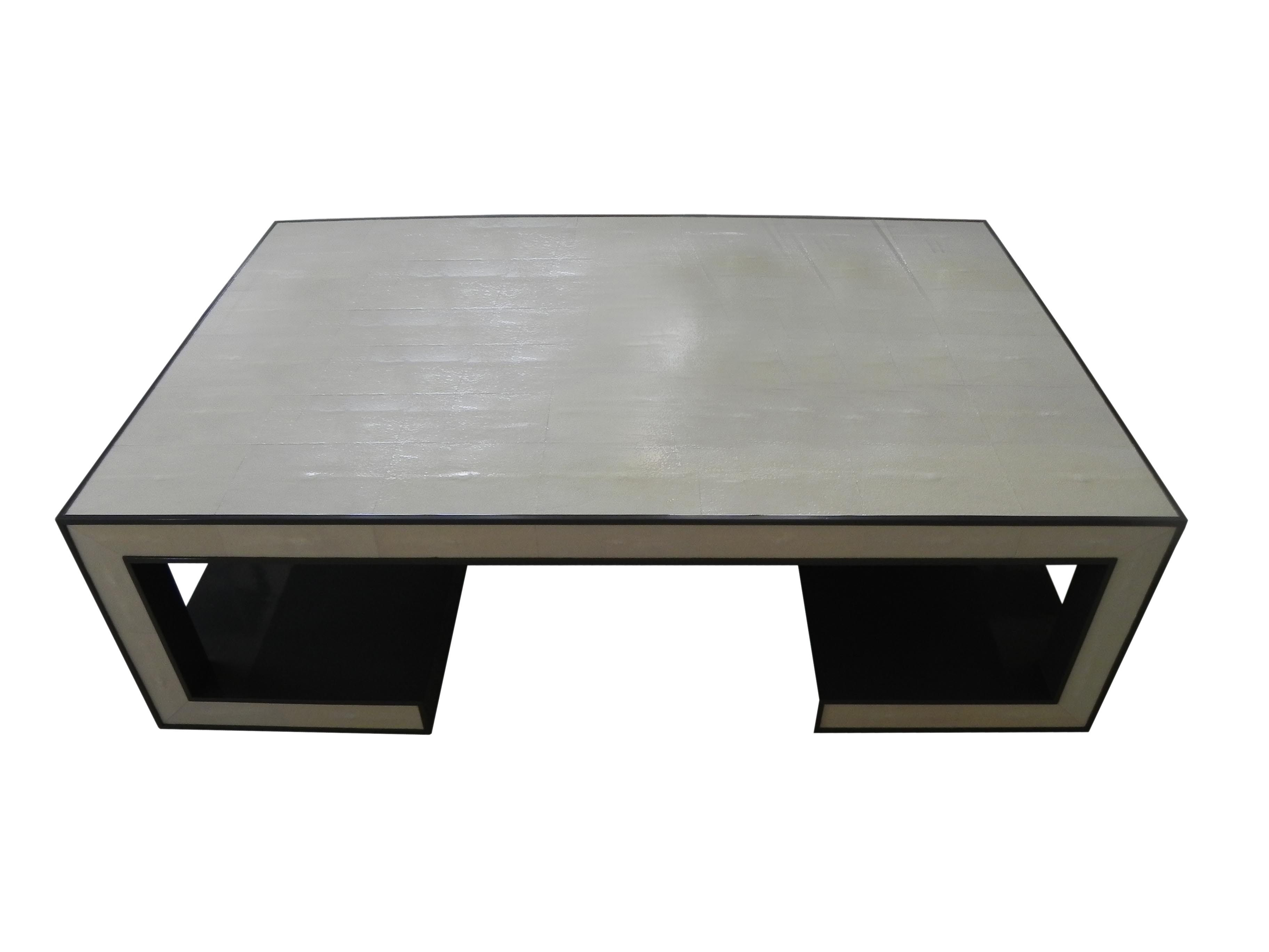 Shagreen Coffee Table Shagreen coffee table, Coffee