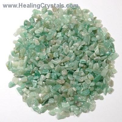Tumbled Green Aventurine Chips- Green Aventurine - Healing Crystals