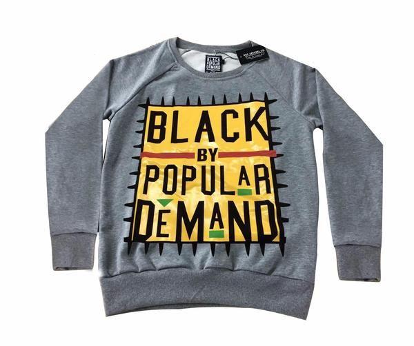 0a4e173799ca BLACK BY POPULAR DEMAND® Original Gray Unisex Sweatshirt   mercy ...