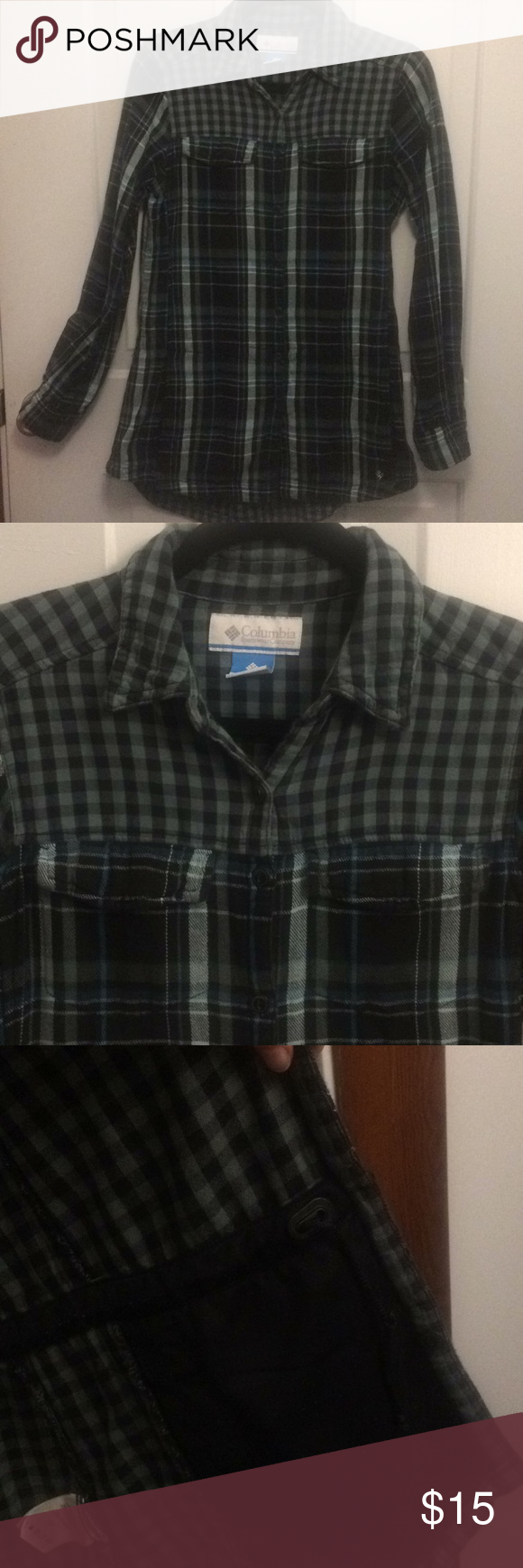 Columbia flannel jacket  Columbia Flannel Dress shirt  Columbia Dress shirts and Flannels