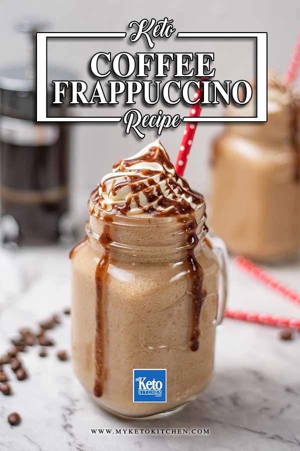 Keto Coffee Frappuccino - Homemade Starbucks Recipe