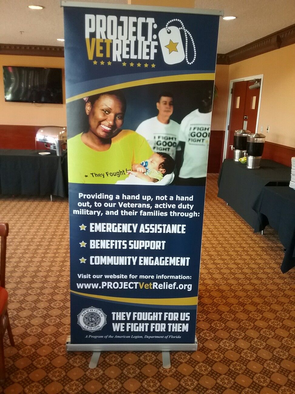 American Legion, Florida Department Project Vet Relief