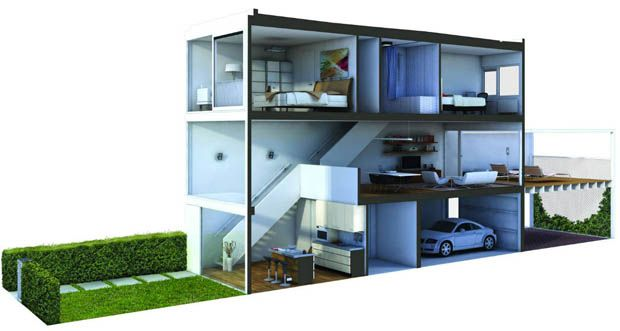Town Home Idea Amsterdam Houses Terrace House Townhouse