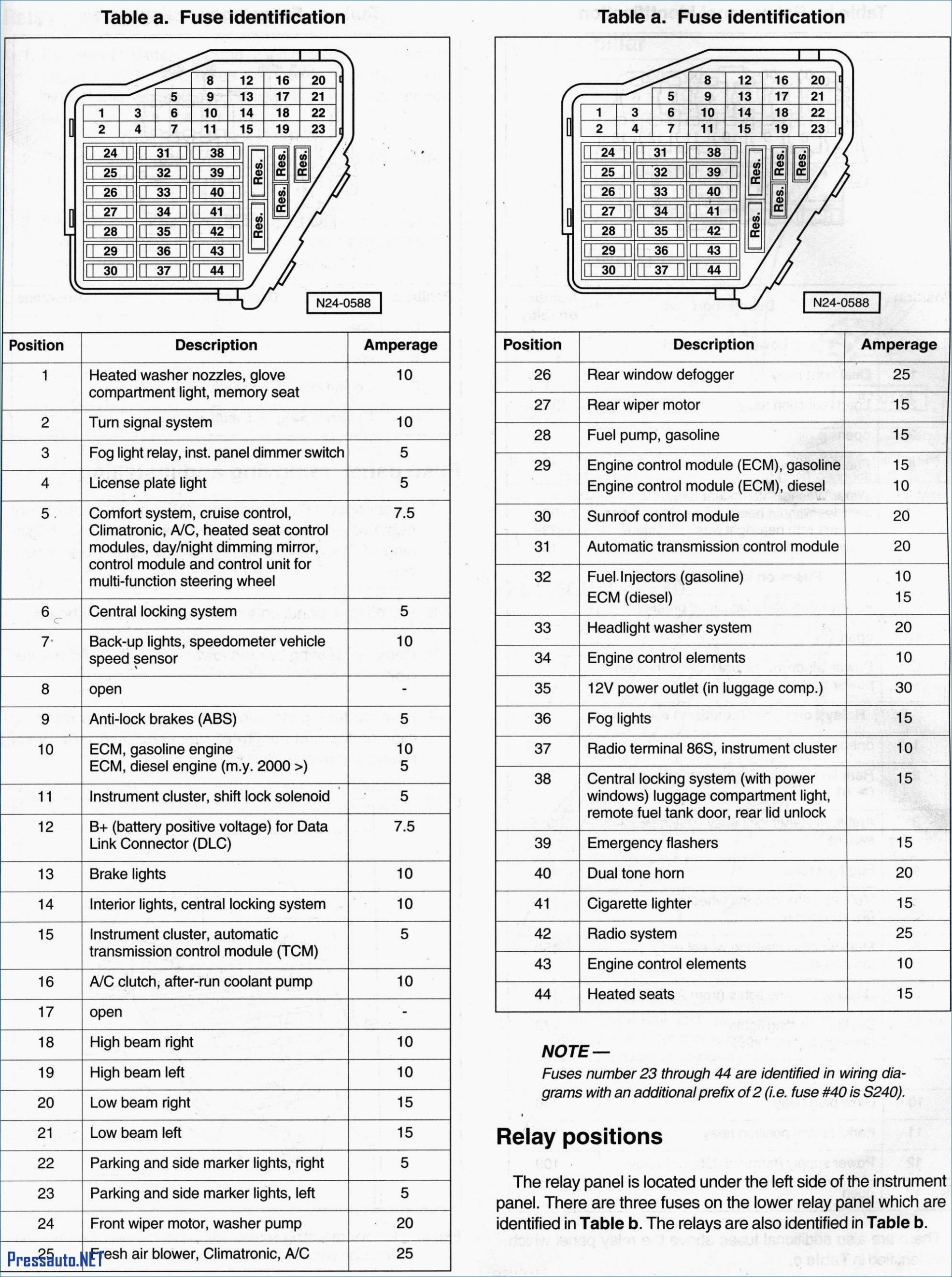 Wiring Diagram For 2000 Audi A6