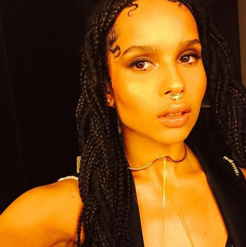 Breaking News Zoe Kravitz Nouvelle Egerie Yves Saint Laurent Beaute Zoe Kravitz Yves Saint Laurent Beaute Beau
