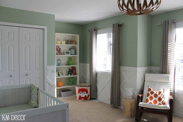Km Decor Nursery Reveal Family Room Walls Decor Unisex Baby Room