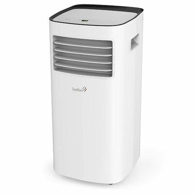 Ivation 10 000 Btu Portable Air Conditioner With Remote In 2020 Portable Air Conditioner Air Conditioner With Heater Compact Air Conditioner
