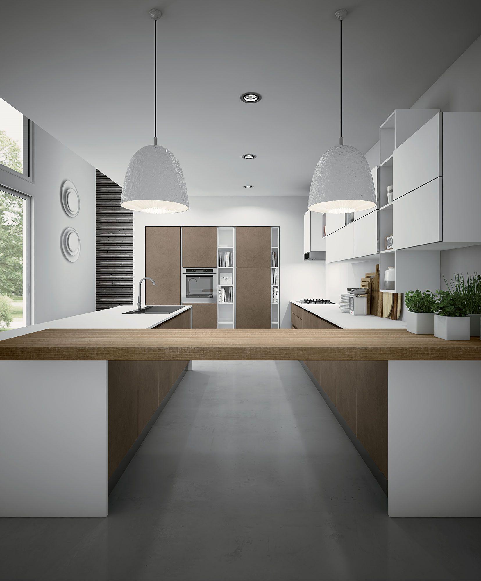 Miro Colours By Aran Cucine European Cabinets Design Studios Modern Kitchen Cabinets Interior Design Kitchen Compact Kitchen Design