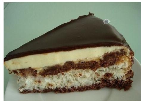 Cake candy «BOUNTY»