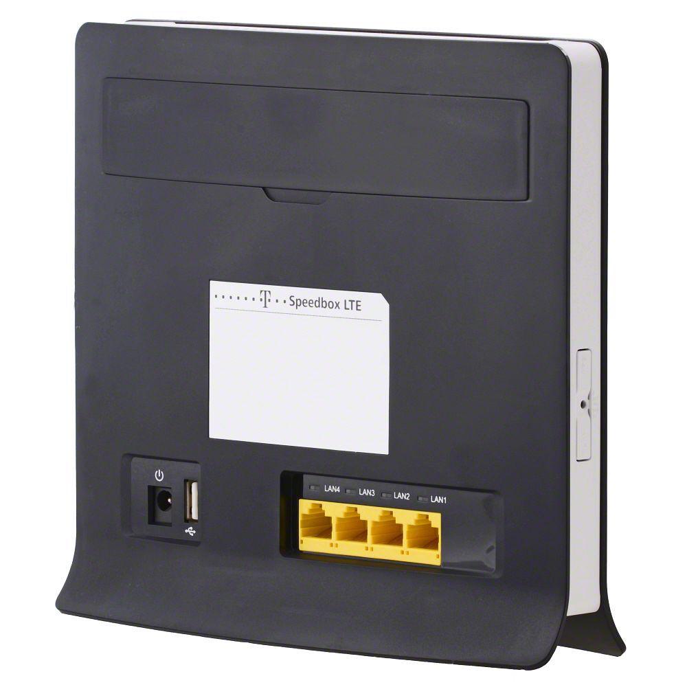 Telekom Speedbox LTE Router HUAWEI B593 Speaker design