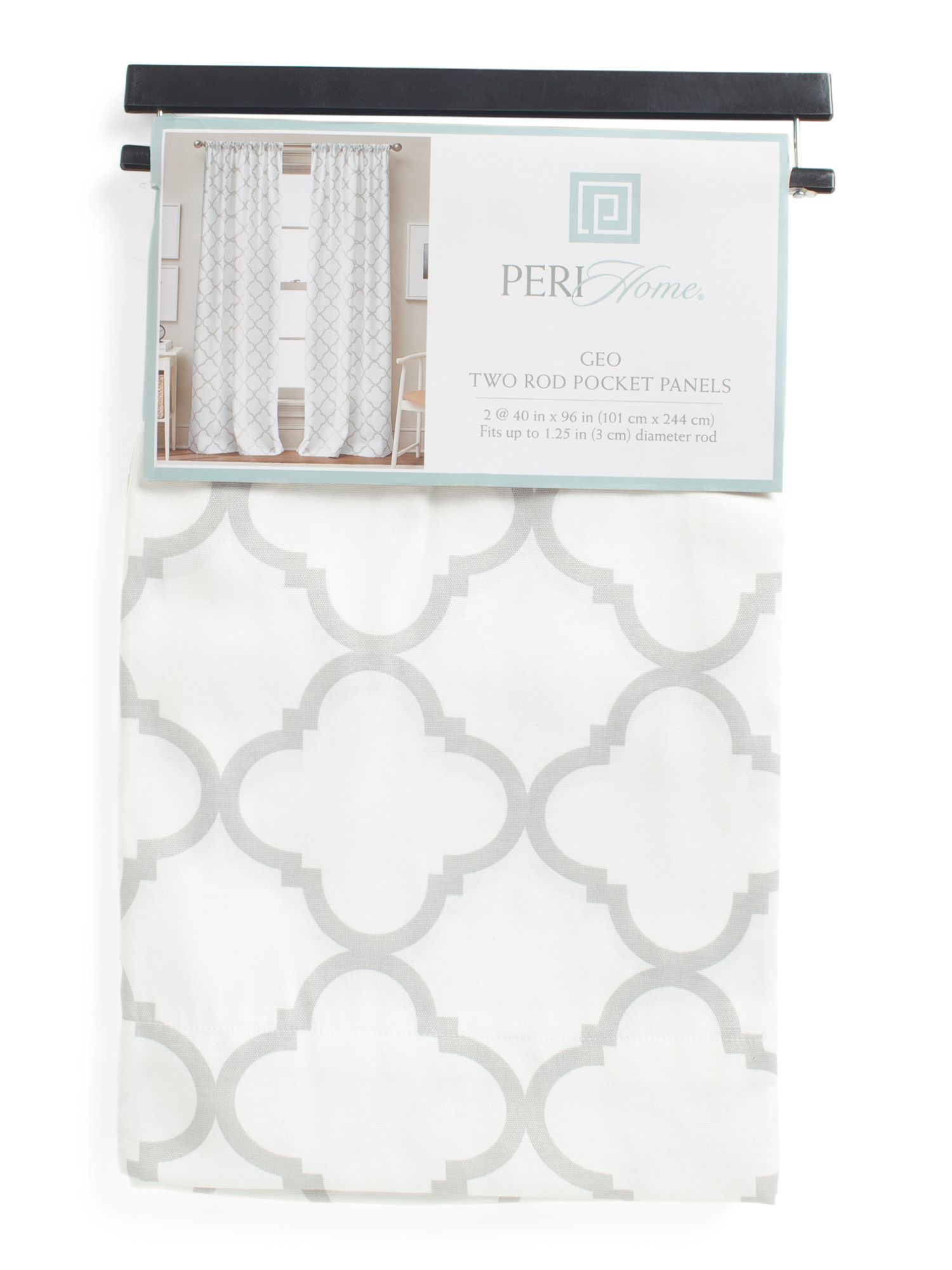 Set Of 2 40x96 Pole Top Panel Curtains Panel Curtains Curtains